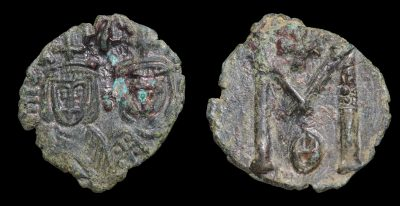 MICHAEL II 820-829 AD FOLLIS MINT OF SYRACUSE-0