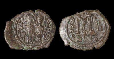 JUSTIN II FOLLIS 563/564 AD NICOMEDIA.-0
