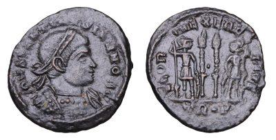 CONSTANTINE II. 337-340 AD. AE19.-0