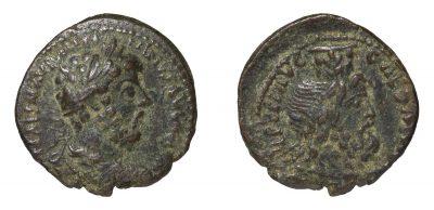Marcus Aurelius. 161-180 AD. AE Caesarea Maritima mint-0
