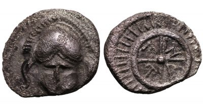 THRACE Mesembria. IV-III Century BC AR Diobol-0