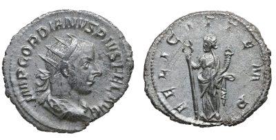 Gordian III. AR Antoninianus, 243-244-0