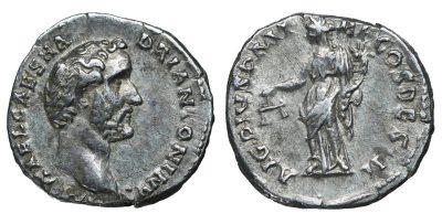 Antoninus Pius. Struck AD 138. AR denarius.-0