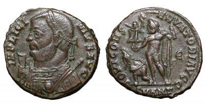 Licinius I. AE follis. 317-320 AD. Antioch mint-0