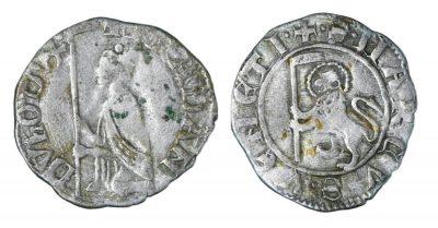 REPUBLIC OF VENICE. FRANCESCO DANDOLO. 1329 - 1339 AD. SOLDINO.-0
